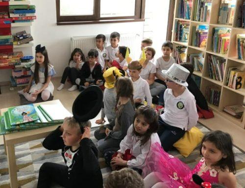 Intalnire cu autor de carte pentru copii